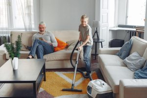 keeping your house clean and tidy